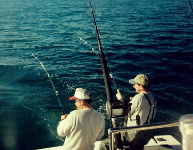 fishing charters rudee inlet