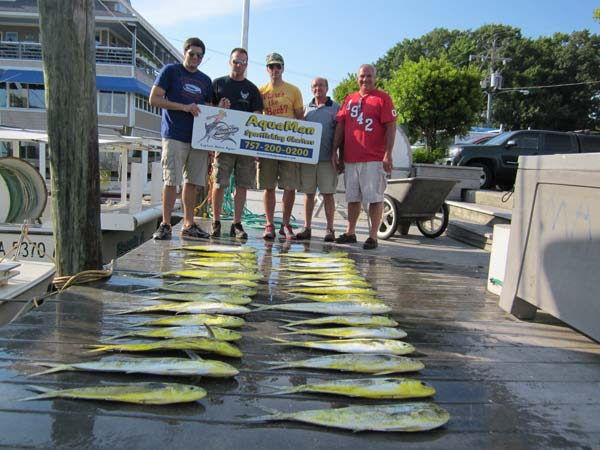 Offshore fishing virginia beach for mahi fishing report for Va beach fishing